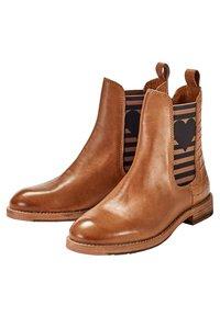 Crickit - Classic ankle boots - cognac - 2