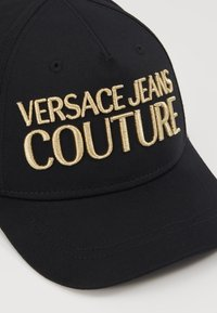 Versace Jeans Couture - LOGO EMBROIDERED - Cap - black - 3