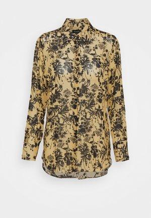 LATIA LONG - Button-down blouse - yellow