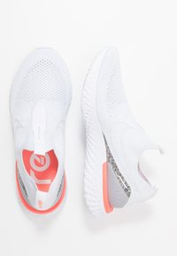 Nike Performance - PHANTOM REACT - Neutral running shoes - white/pure platinum/wolf grey/lava glow - 1