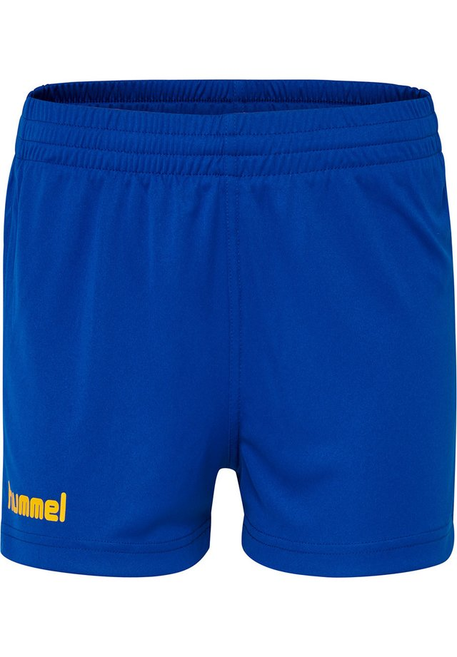 CORE  - Sports shorts - true blue/sports yellow