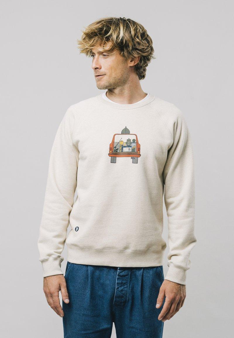 Brava Fabrics - 4WHEELS  - Sweatshirt - grey