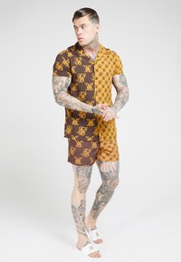 SIKSILK - RESORT SHIRT - Chemise - tan/brown - 4