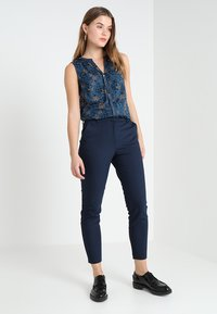 Vila - Trousers - navy - 1