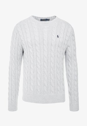 CABLE - Pullover - andover heather