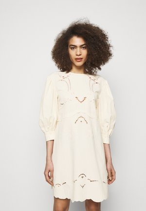 Denní šaty - buttercream