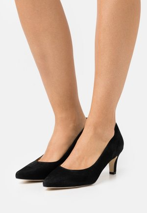 LEATHER COMFORT - Klassiske pumps - black