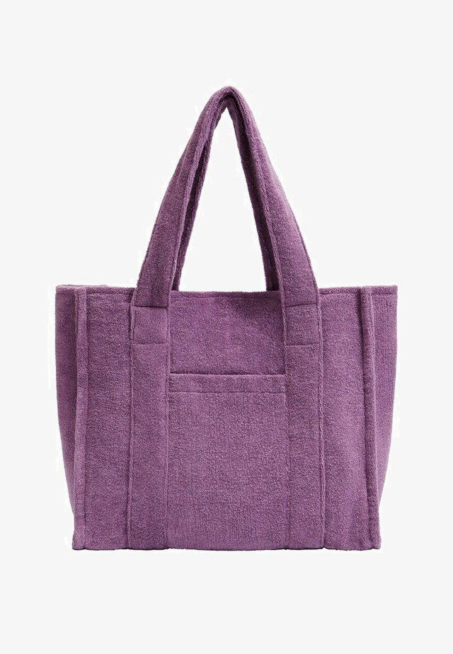 Shopper - lilas