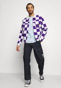 Quiksilver - BOX CHECKER JACKET - Summer jacket - prism violet - 1