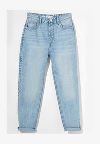 Bershka - MOM FIT JEANS - Jeans baggy - blue denim - 5
