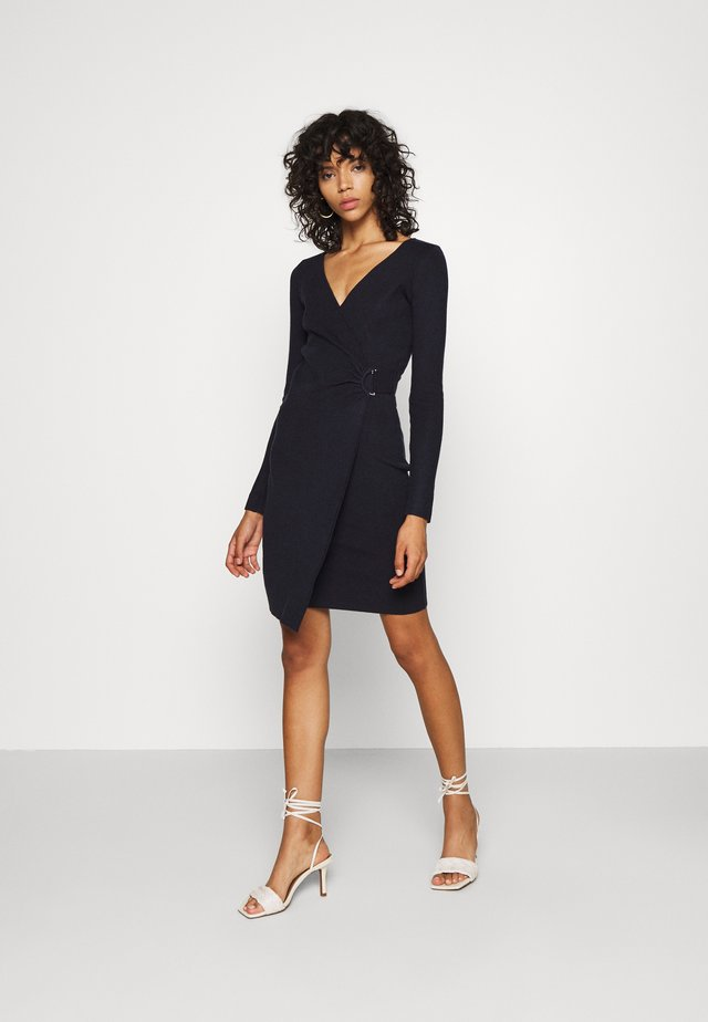 OXFORD DRESS - Robe fourreau - navy