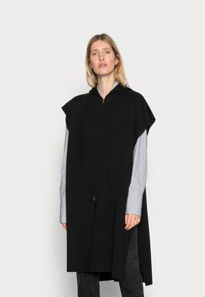 BLANKET HOODIE - Waistcoat - black