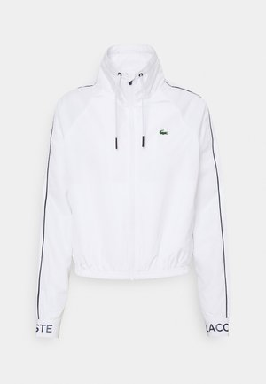 TRACKJACKET - Veste de survêtement - white/navy blue