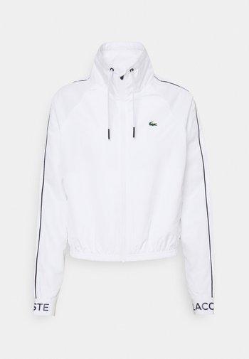 TRACKJACKET - Training jacket - white/navy blue