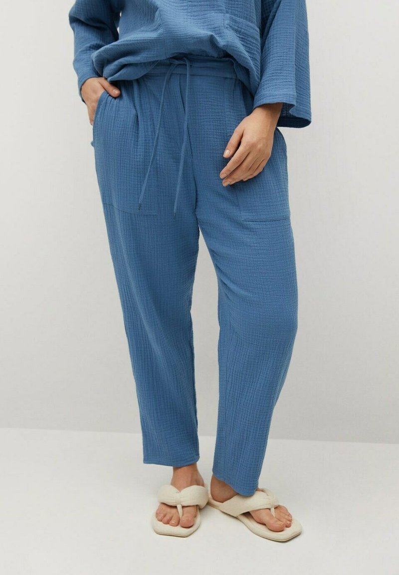 Violeta by Mango - NIGHT - Trousers - blau