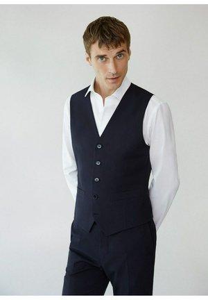 BRASILIA - Suit waistcoat - dunkles marineblau