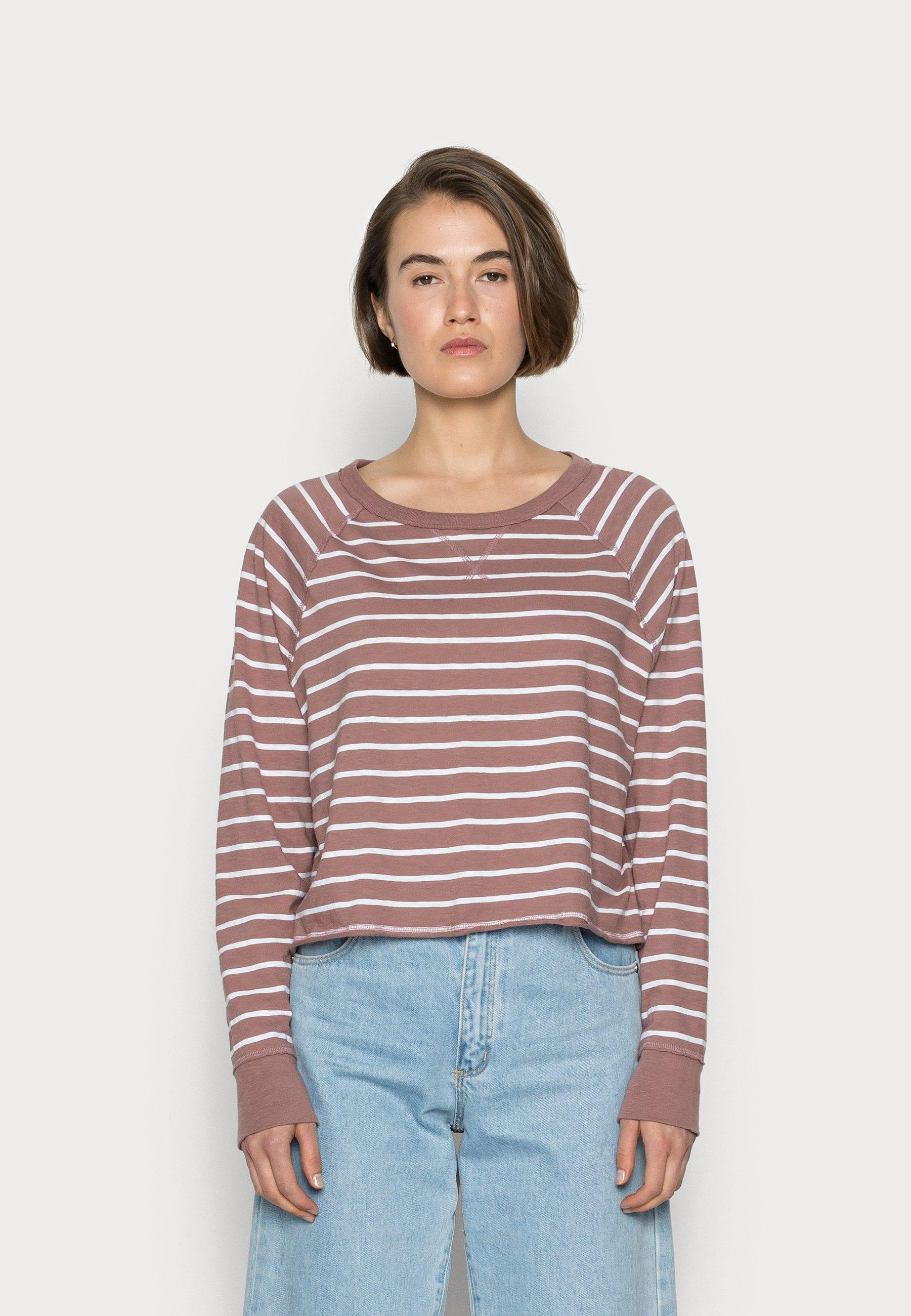 Women CROPPED TEE - Long sleeved top