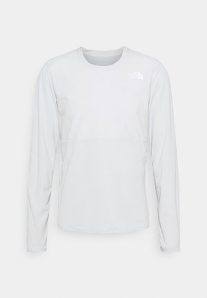 TRUE RUN - Long sleeved top - tin grey