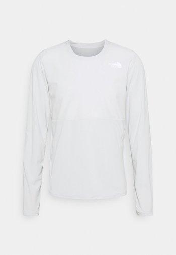 TRUE RUN - Long sleeved top - tin grey