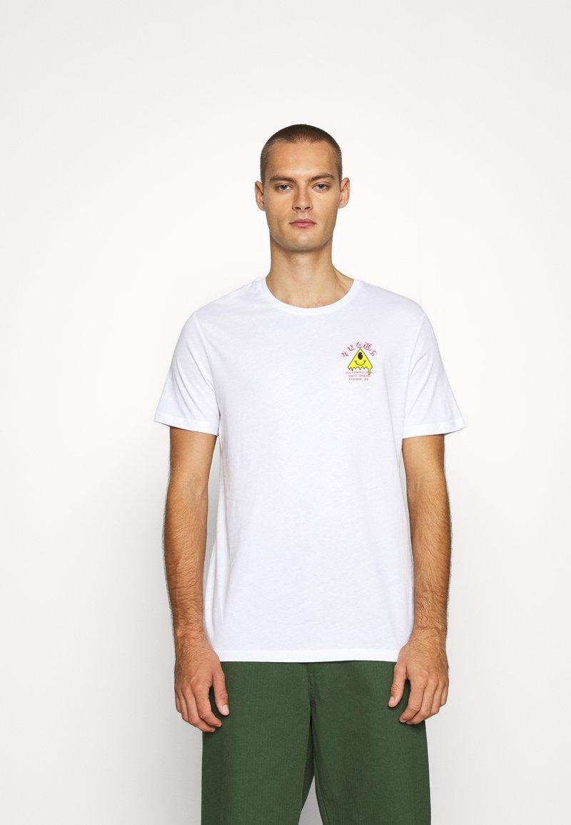 YOURTURN - T-shirt med print - white