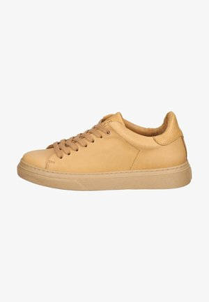 Sneakers laag - camel leather