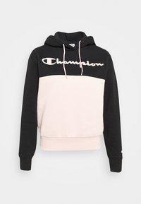 Champion - HOODED - Sweatshirt - black - 4