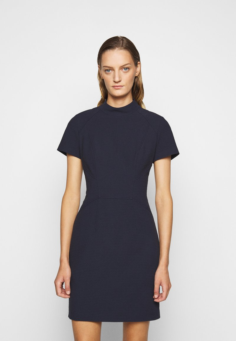 HUGO - KABECCI - Shift dress - open blue