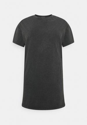 DRESS - Jersey dress - acid wash