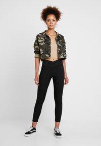 Topshop - BALLET - Leggings - Trousers - black - 1