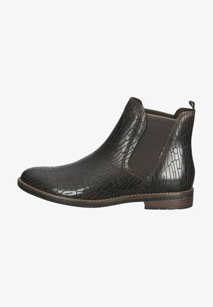 Ankle boots - mocca struct
