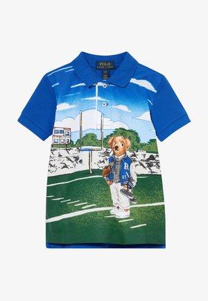 Polo shirt - travel blue