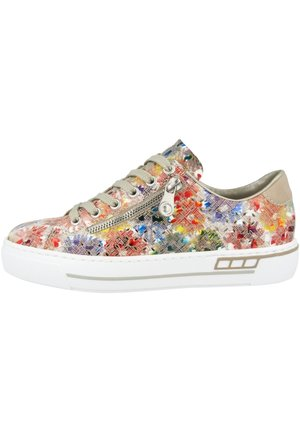 Trainers - ginger-multi-nude (l8837-90)