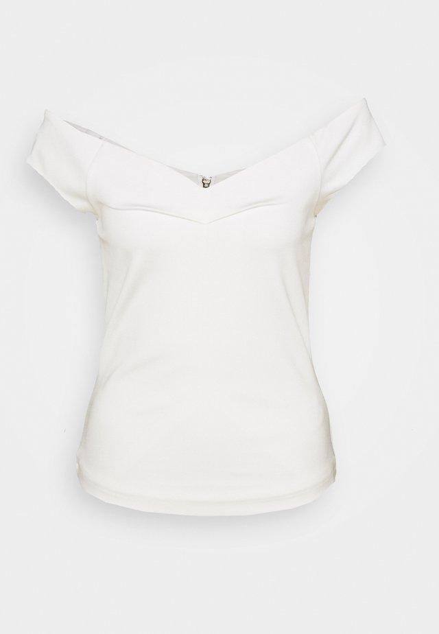 CARRO - T-shirt print - white