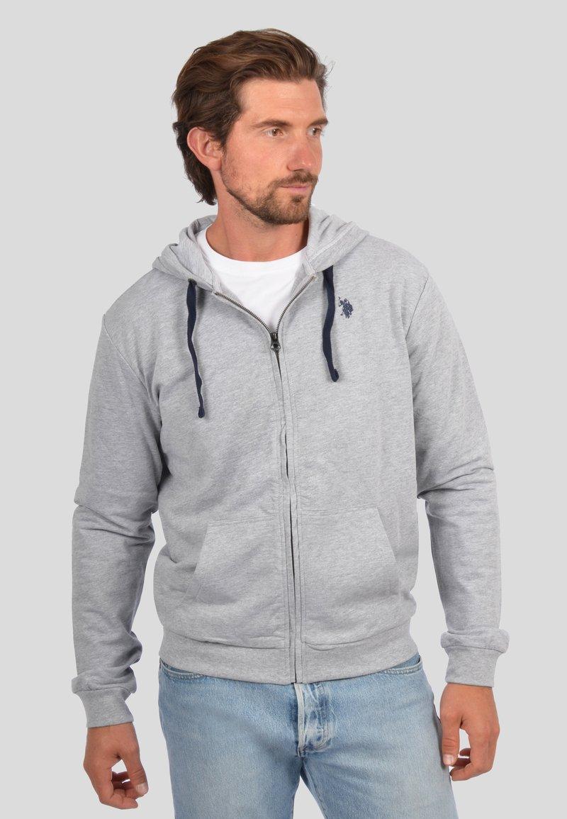 U.S. Polo Assn. - Zip-up sweatshirt - grau