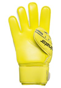 Uhlsport - ELIMINATOR SUPERSOFT  - Goalkeeping gloves - fluo yellow/griffin grey - 2