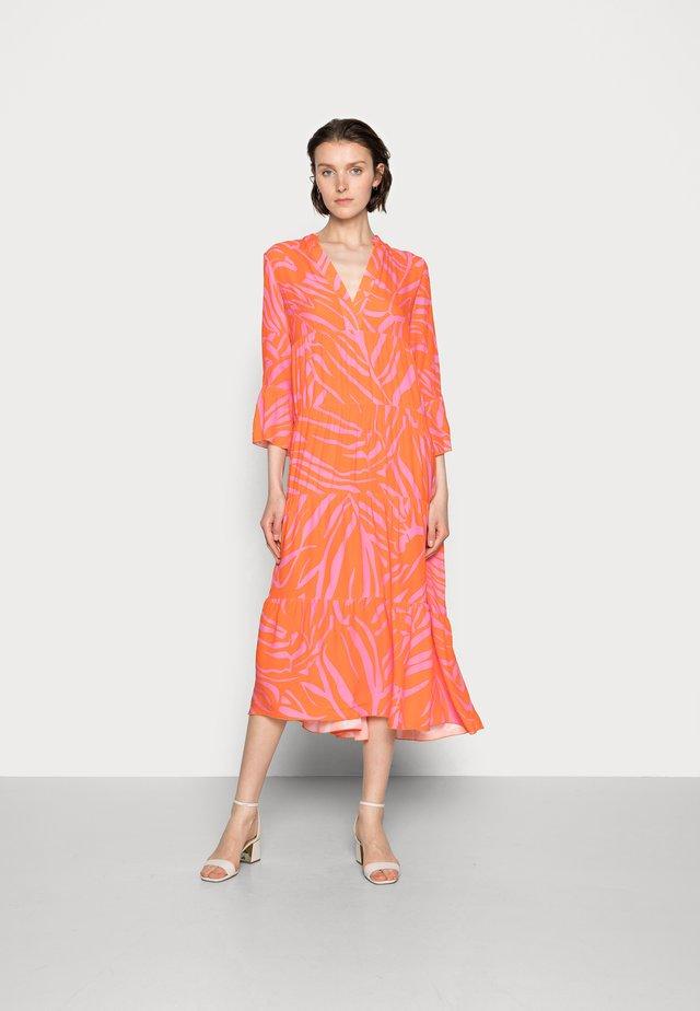 Sukienka letnia - orange/pink