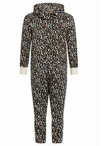 WE Fashion - MEISJES MET LUIPAARDDESIN - Zip-up hoodie - multi-coloured - 1