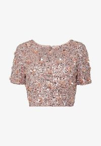 Lace & Beads - LETTY FLOWER - Bluse - nude - 4