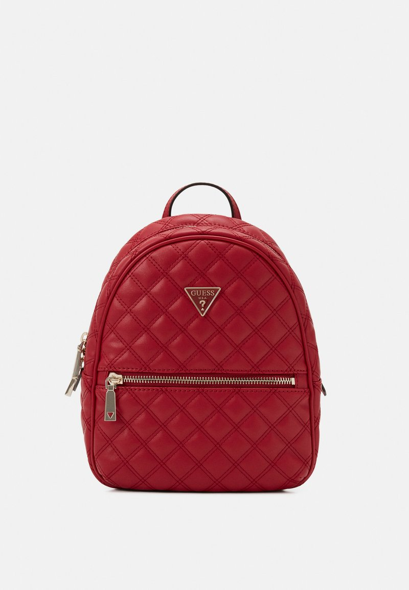 Guess - CESSILY BACKPACK - Rucksack - red