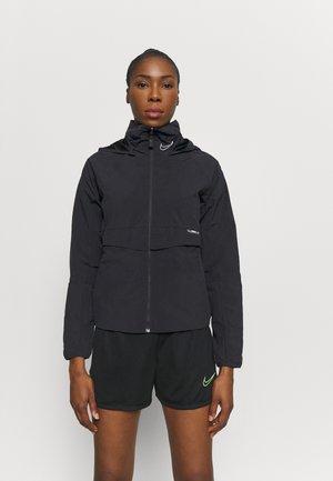 Training jacket - black/smoke grey/reflective silver