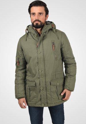 SOLID CLARK JACKE - Winter coat - ivy green