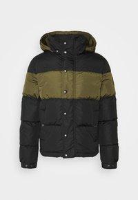 Belstaff - DOME JACKET - Down jacket - black/sage green - 6