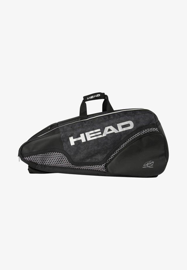 Racket bag - schwarz (200)