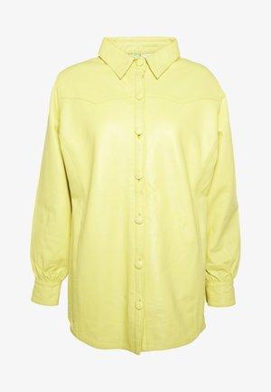 RUDY SHIRT - Veste en cuir - yellow