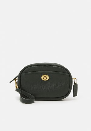 CAMERA BAG WITH STRAP - Across body bag - amazon green