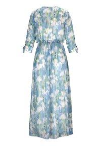 Alba Moda - Maxi dress - blau/off-white - 6