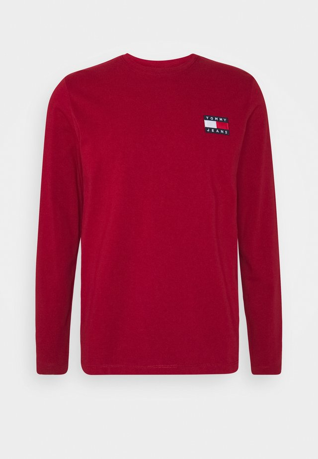 TJM TOMMY UNISEX - Long sleeved top - wine red