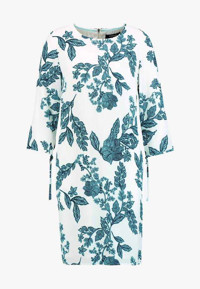 LANGARM MIT FLORAL PRINT - Day dress - offwhite