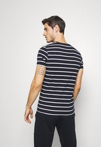 Tommy Hilfiger - STRETCH TEE - T-shirts basic - blue - 2