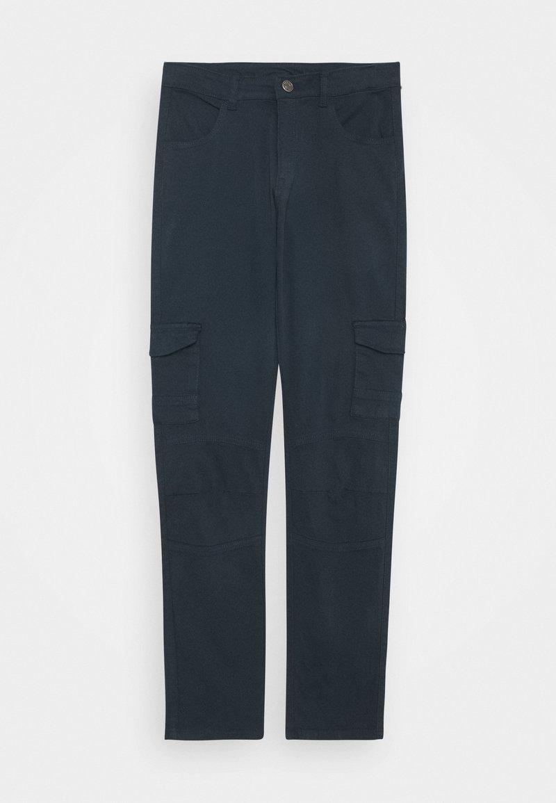 The New - OLEG CARGO PANTS - Cargo trousers - navy blazer